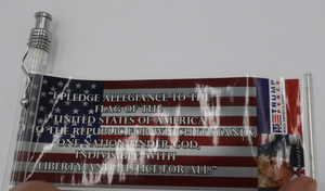 Trump Pen with pull-out pledge of allegience