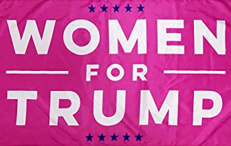 3x5 Women for Trump Pink Flag