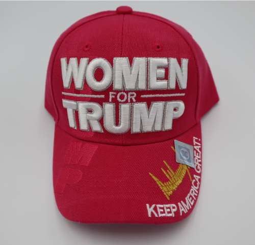 Pink Women for trump Singature Series hat