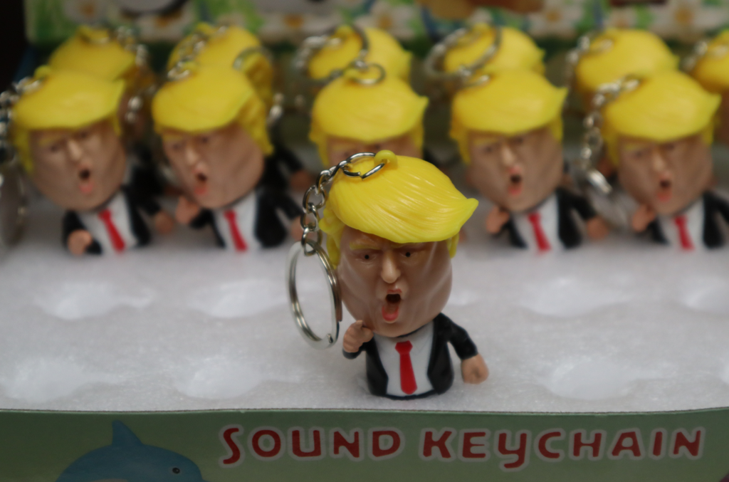 Trump Figure Key Chain Accessory