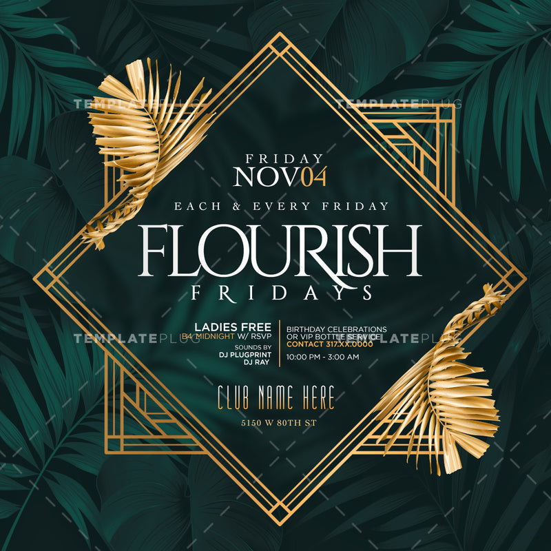 Florish Fridays Flyer