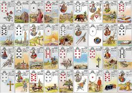 Online Lenormand cards course