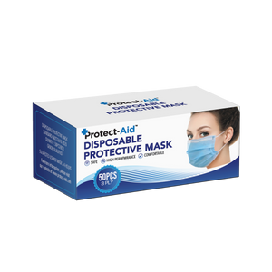 Protect-Aid Disposable Protective Face Mask (50 count)