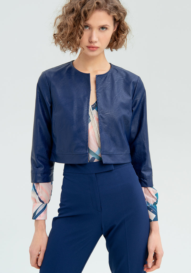 Open short jacket