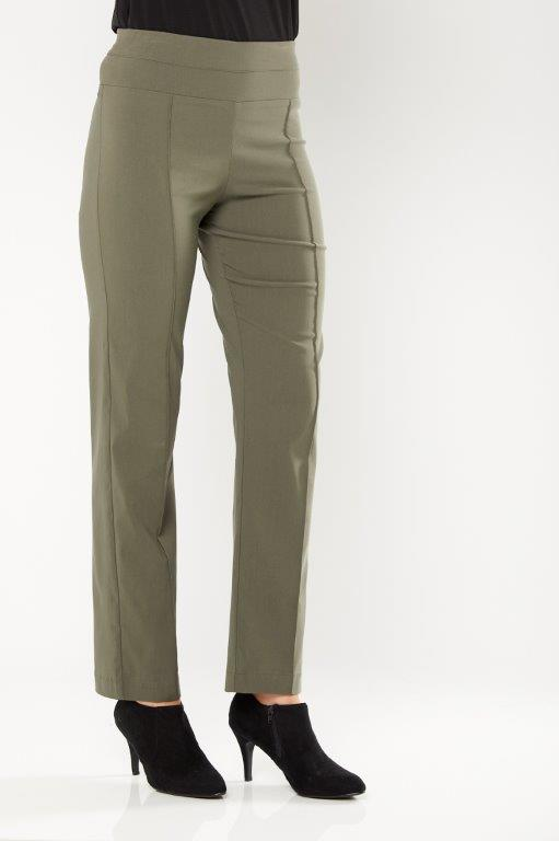 Philosophy Full Length Bengaline Pant Khaki - Women's Winter Fashion