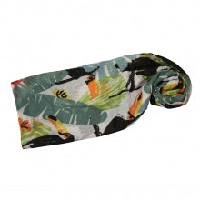 Enhance Accessories Toucan Scarf White