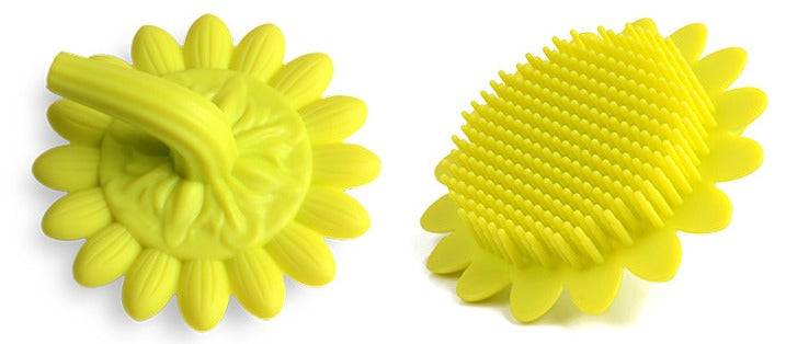 Face & Body Exfoliator Brush/Flower