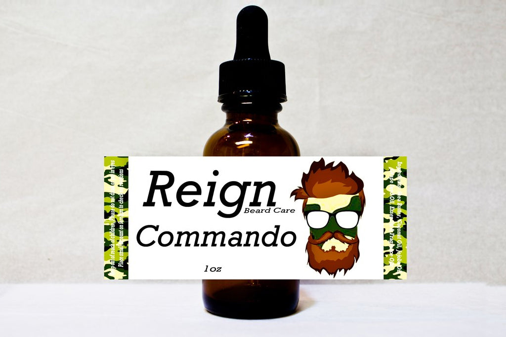 """Commando"" Beard Oil"