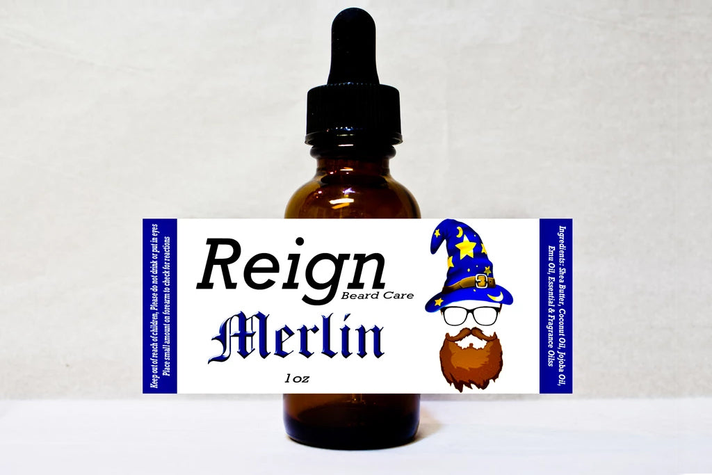 """Merlin"" Beard Oil"