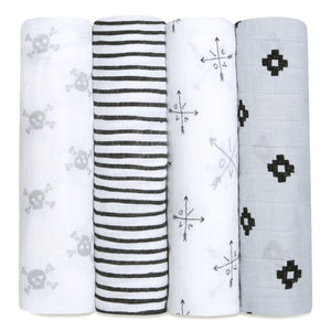 aden + anais lovestruck 4 pack classic swaddle