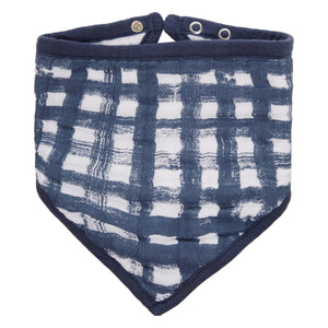 waverly classic muslin adjustable bandana bib