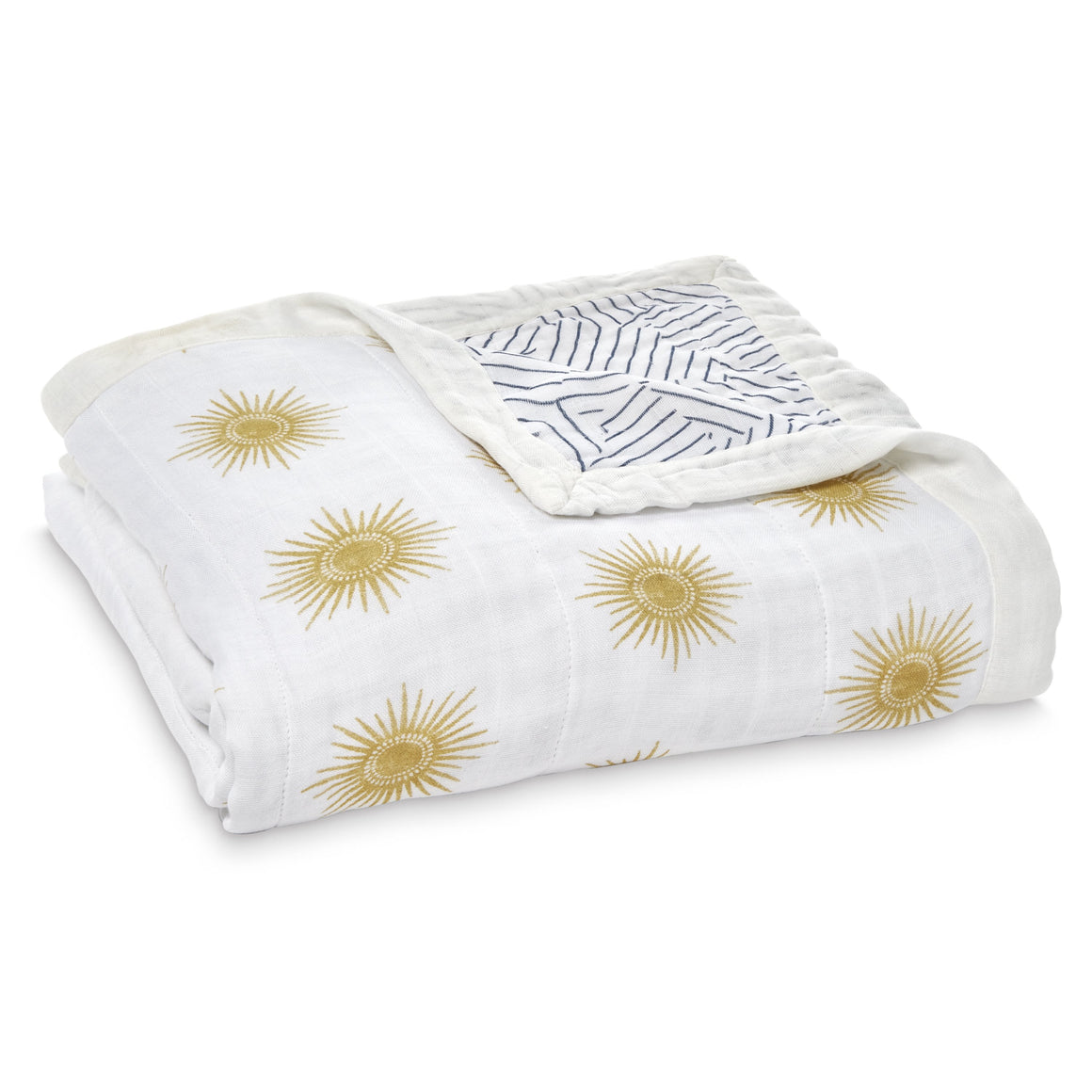 aden + anais golden sun silky soft bamboo muslin dream blanket