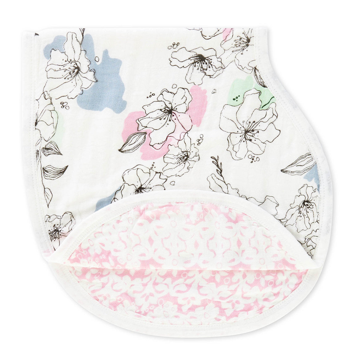 aden + anais meadowlark silky soft burpy bib single
