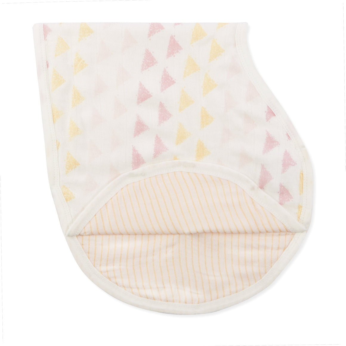 aden + anais metallic primrose birch silky soft burpy bib single
