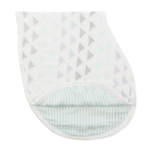 aden + anais metallic skylight birch silky soft burpy bib single