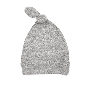 aden+anais snuggle knit hat - heather grey