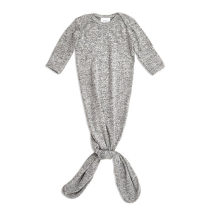 aden+anais snuggle knit gown - heather grey