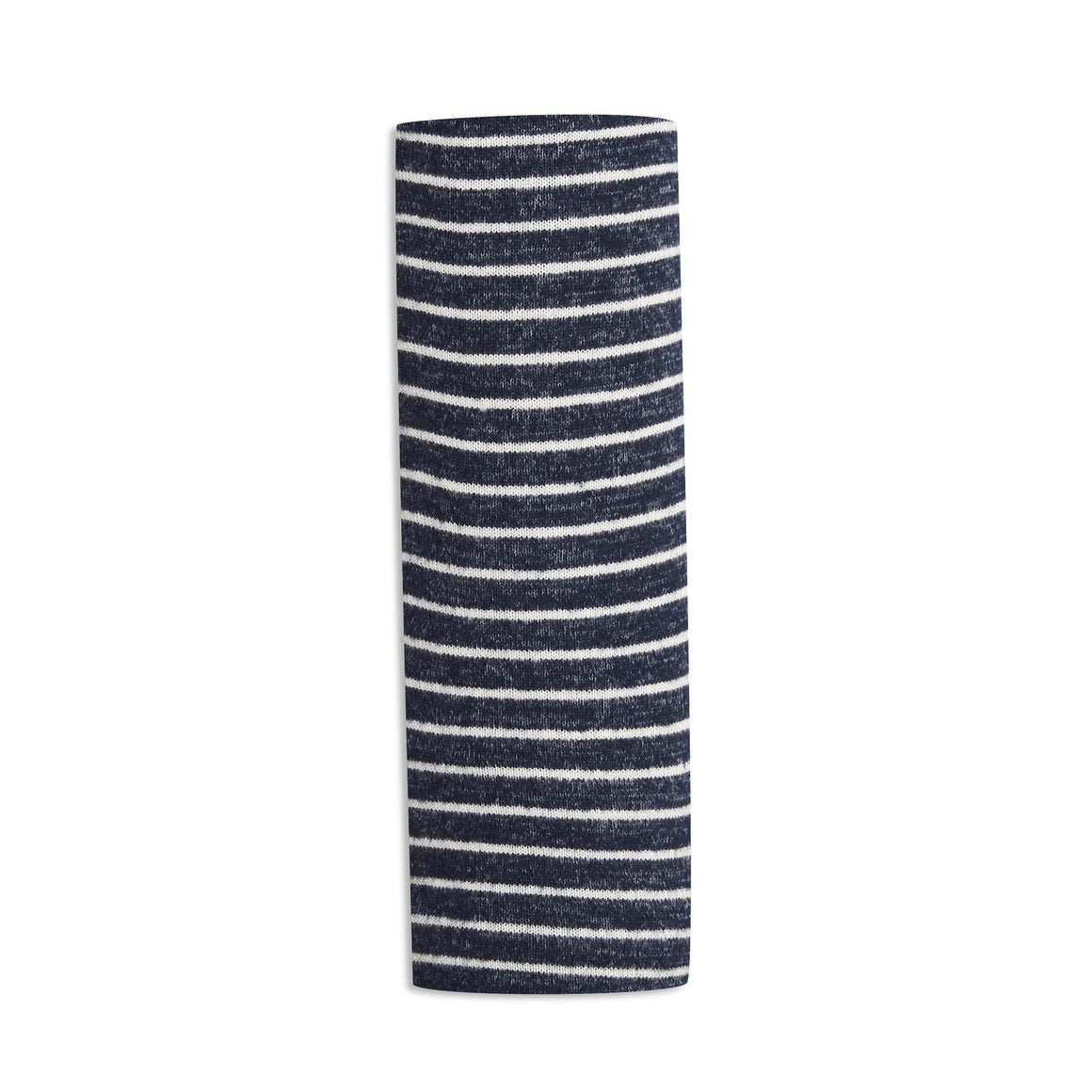 aden+anais snuggle knit blanket - navy stripes