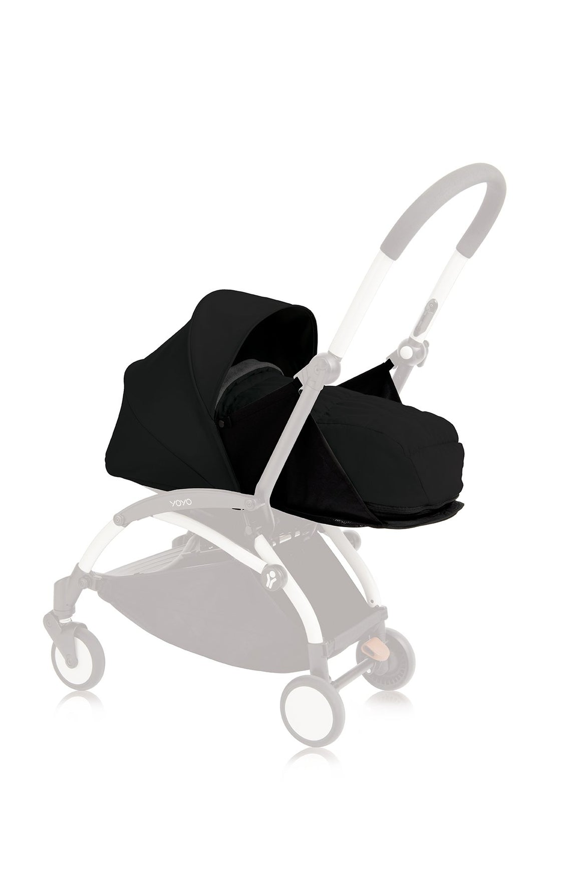 BABYZEN YOYO Newborn Bassinet Only - Black