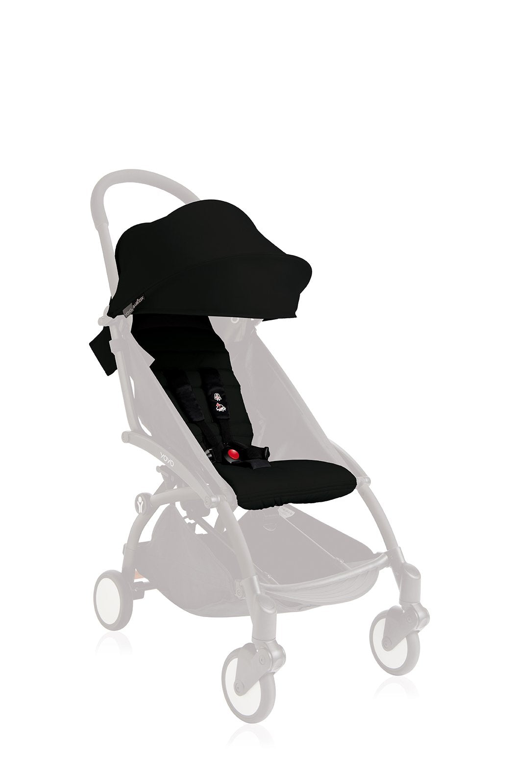 BABYZEN YOYO 6+ Seat Pad and Canopy Only - Black
