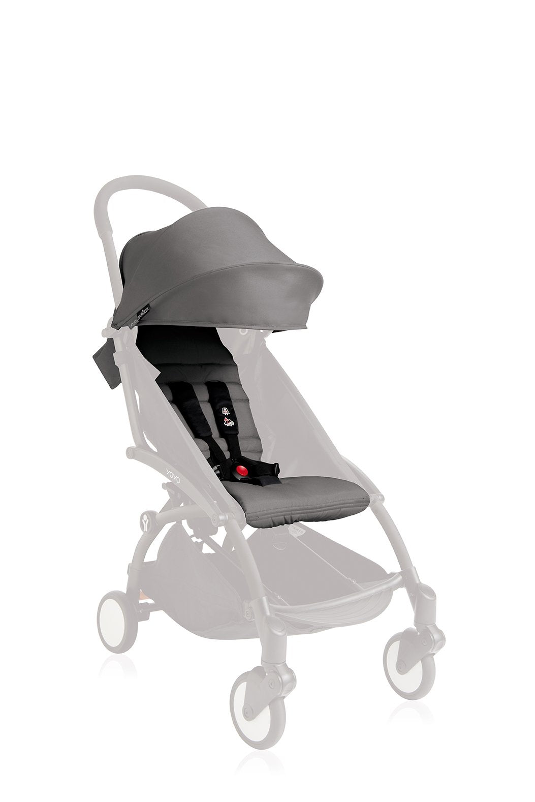 BABYZEN YOYO 6+ Seat Pad and Canopy Only - Grey