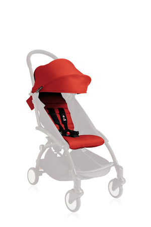 BABYZEN YOYO 6+ Seat Pad and Canopy Only - Red