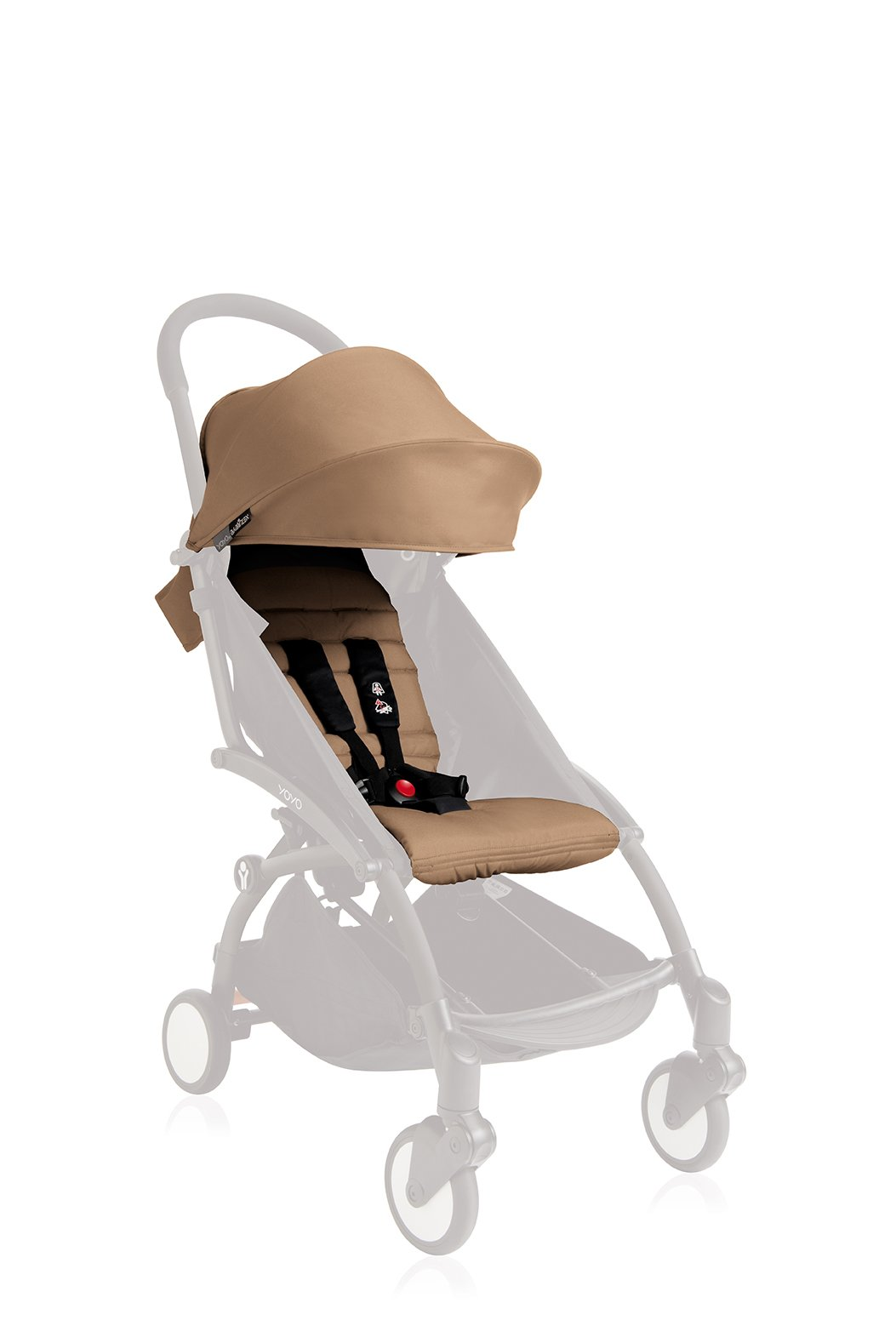 BABYZEN YOYO 6+ Seat Pad and Canopy Only - Taupe