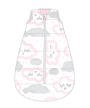 Studio Bag No Arms Cotton 6-18m 1.0 TOG CLOUDS PINK
