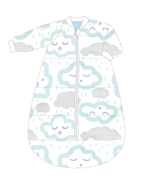 Studio Bag With Arms Cotton 6-18m 3.0 CLOUDS PEPPERMINT