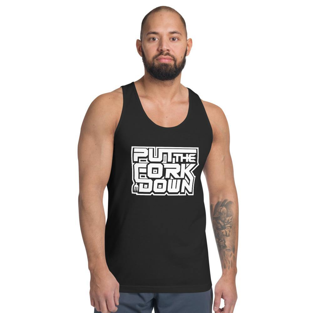 Put the fork down! Tank top