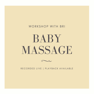 Baby Massage Workshop - Breezy Babies