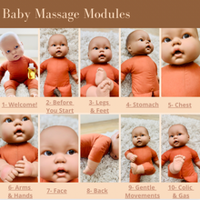 Load image into Gallery viewer, Baby Massage Online Course - Breezy Babies