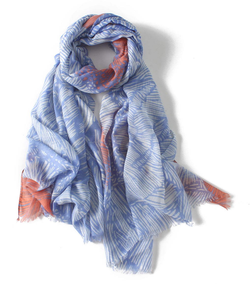 Women Lightweight New Designs Long Cotton Touch Shawl Wrap Warm Scarves