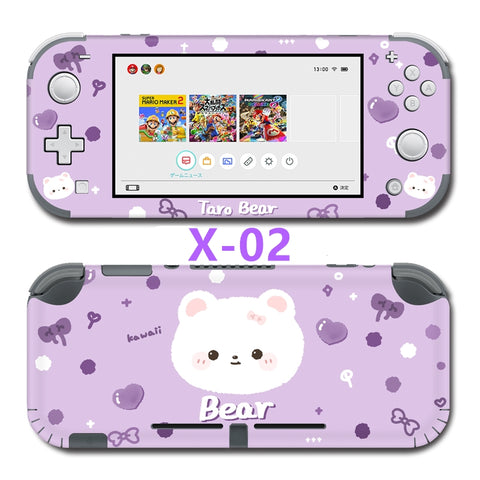 Nintendo Switch Lite Skin Sticker __  Taro Bear X-02