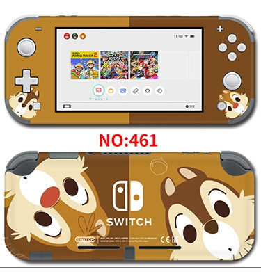 Nintendo Switch Lite Skin Sticker __ Chip 'n' Dale 461
