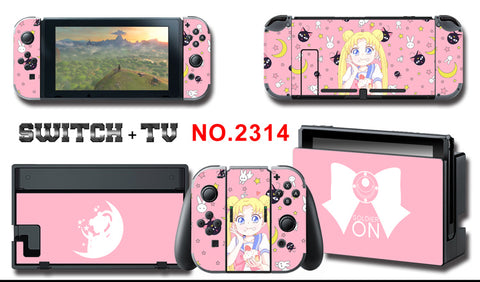 Nintendo Switch Skin Sticker __ Sailor Moon 2314