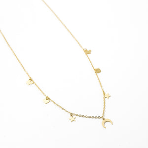 Collar multidije oro 18K