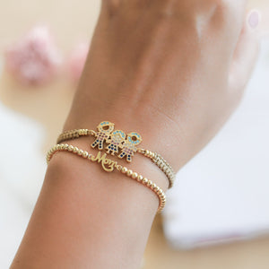 Pulsera Sole Esfera Broche - Mom