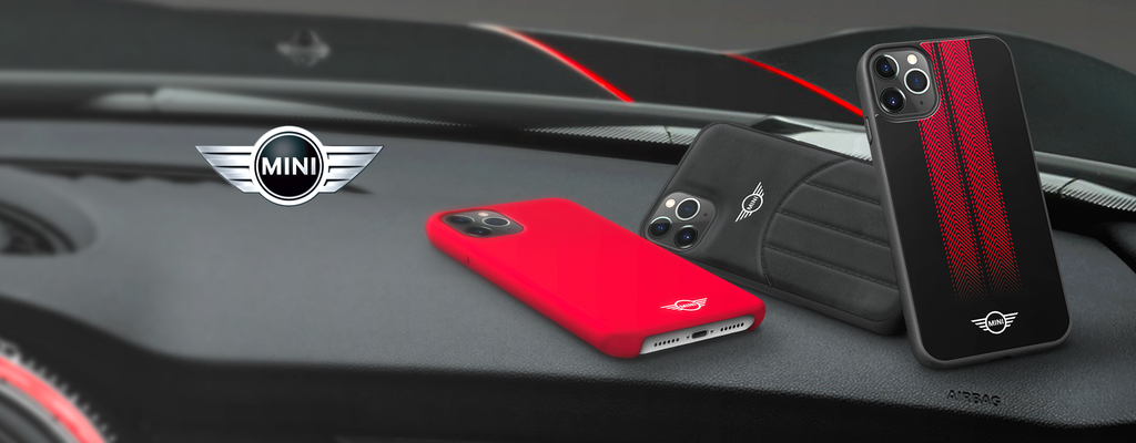 Official Licensed Mini Cooper Case & Covers for iPhones and Samsung Phones with optimal 24/7 protection. Get covered in style with our branded cases.