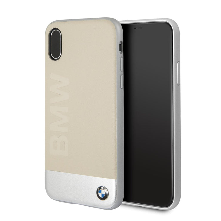 BMW Real Leather and Aluminum with Imprint Logo