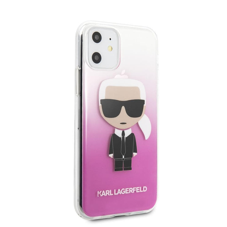 Karl Lagerfeld Clear Gradiant PC/TPU