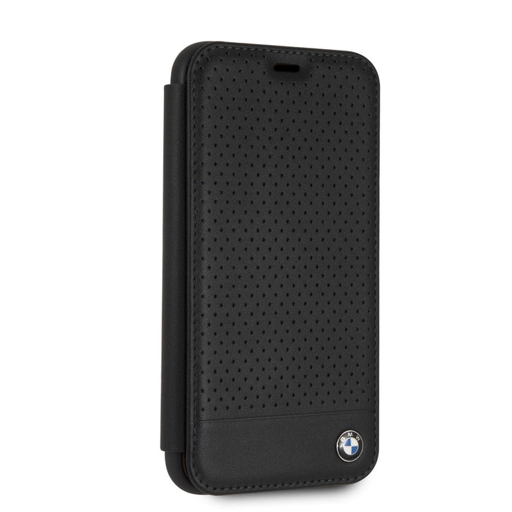 BMW Signature Perforated Wallet Real Leather