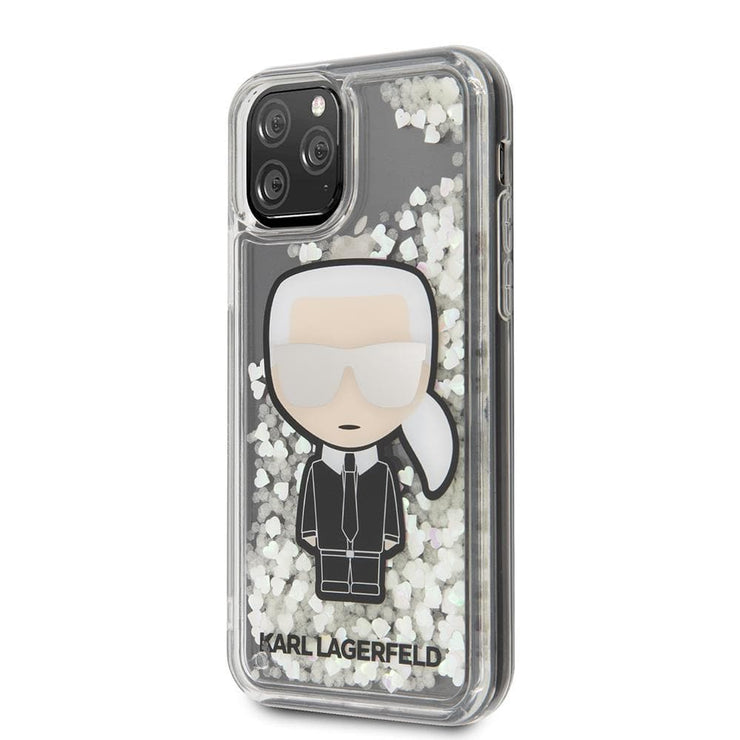 Karl Lagerfeld PC/TPU Glow in the Dark Ikonik Glitter