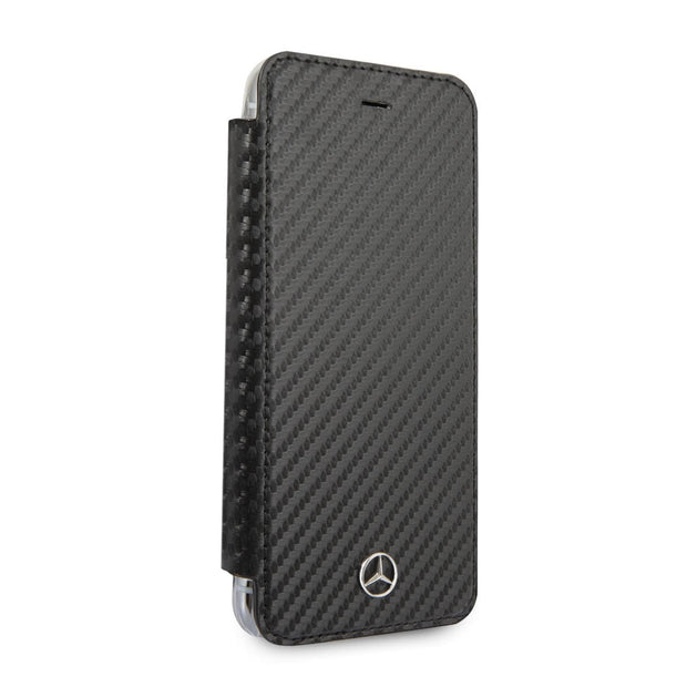 Mercedes-Benz P.U. Leather Carbon Fiber Effect Wallet