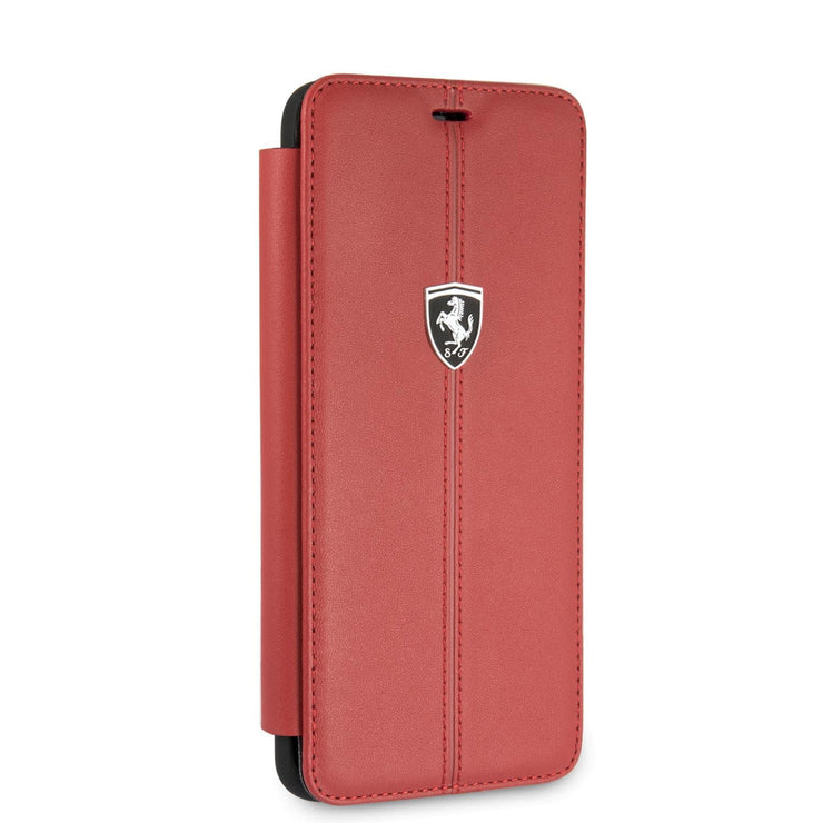 Ferrari Off Track Signature Wallet Samsung Real Leather