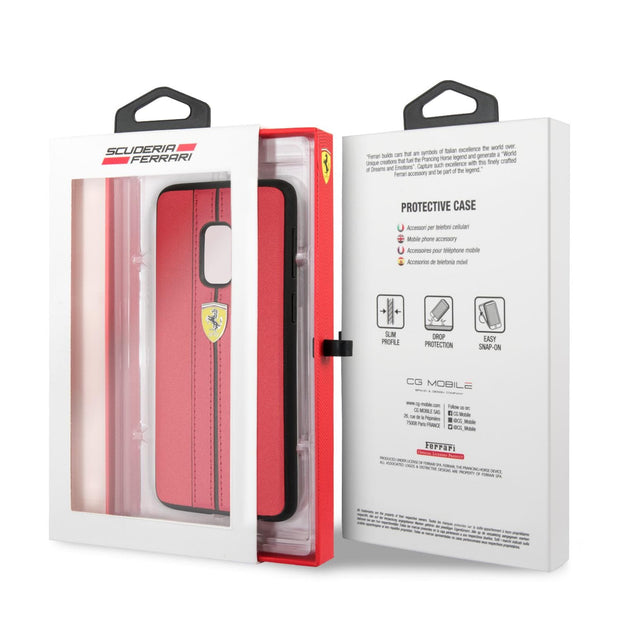 Ferrari On Track Logo Samsung PU Leather