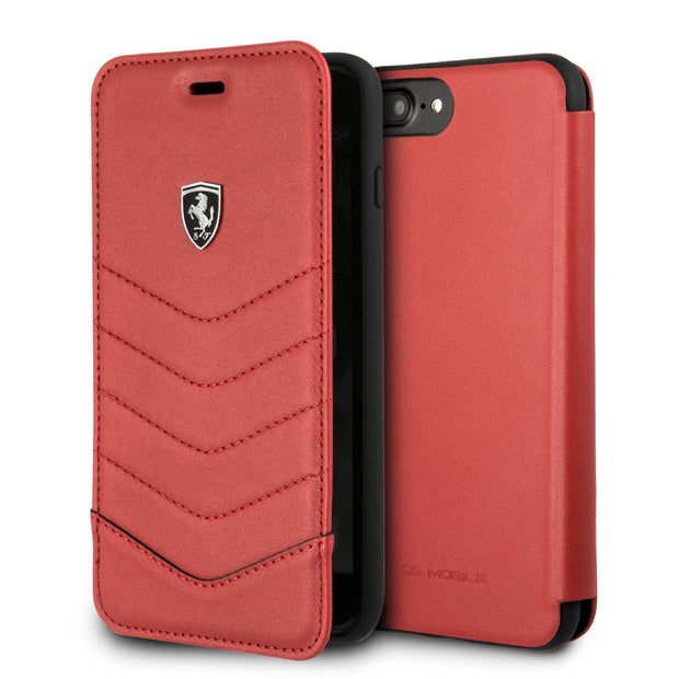 Ferrari Off Tracked Quilted Wallet