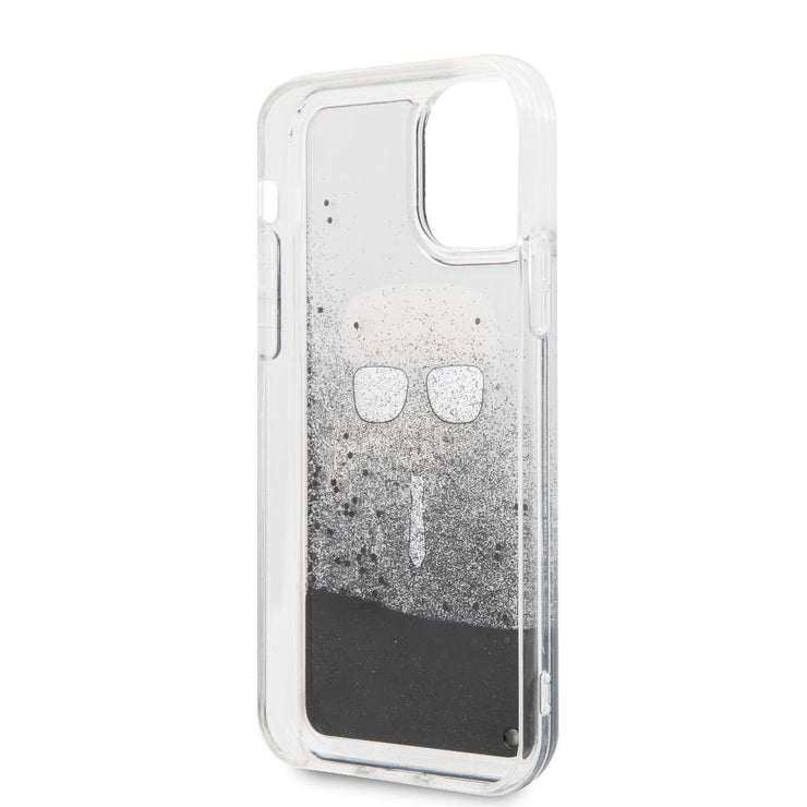 Karl Lagerfeld Hard Case Black Glitter PC/TPU