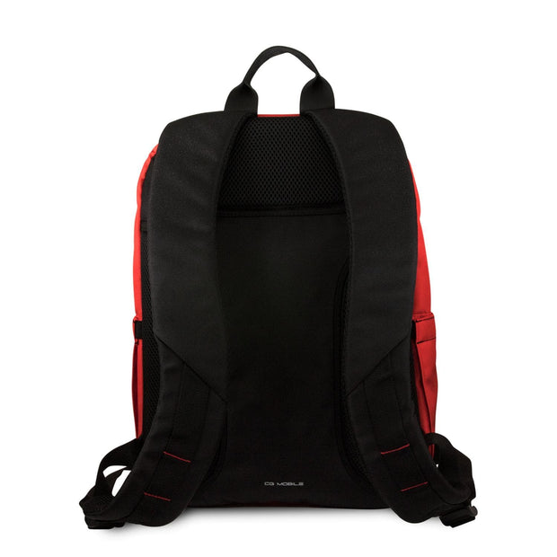 Ferrari Laptop Backpack with Vertical Stripes