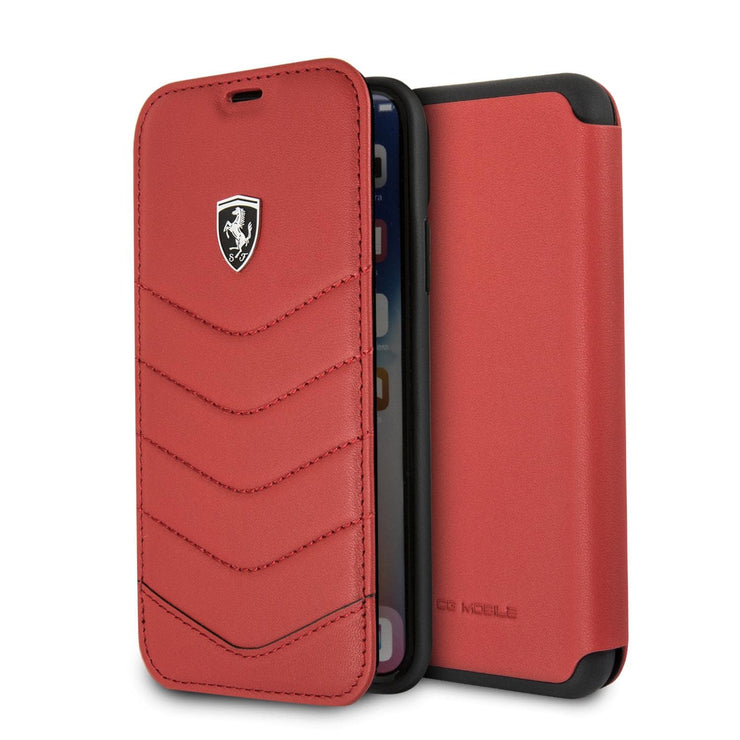 Ferrari Quilted Real Leather Wallet